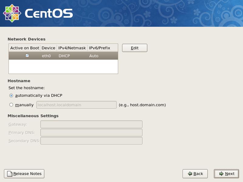 CentOS 5 - Install : Server World