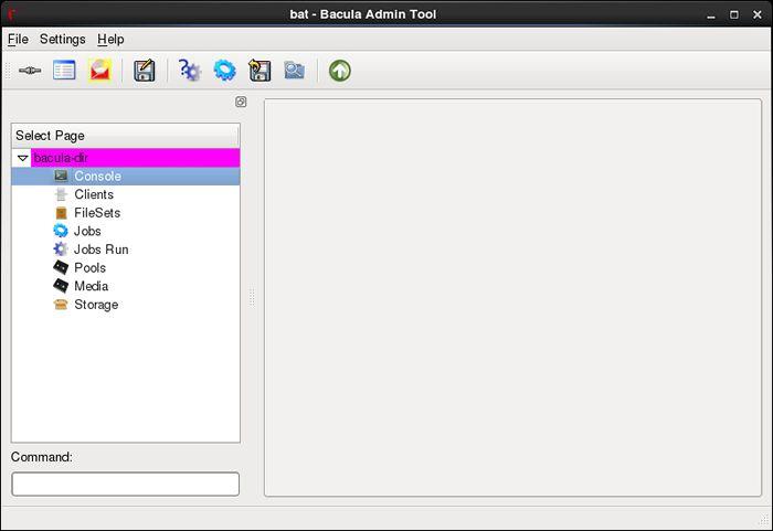 CentOS 6 - Bacula - Install GUI based tool : Server World