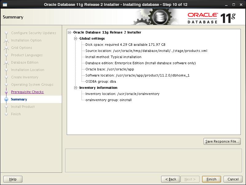 CentOS 6 - Oracle Database 11g R2 - Install : Server World
