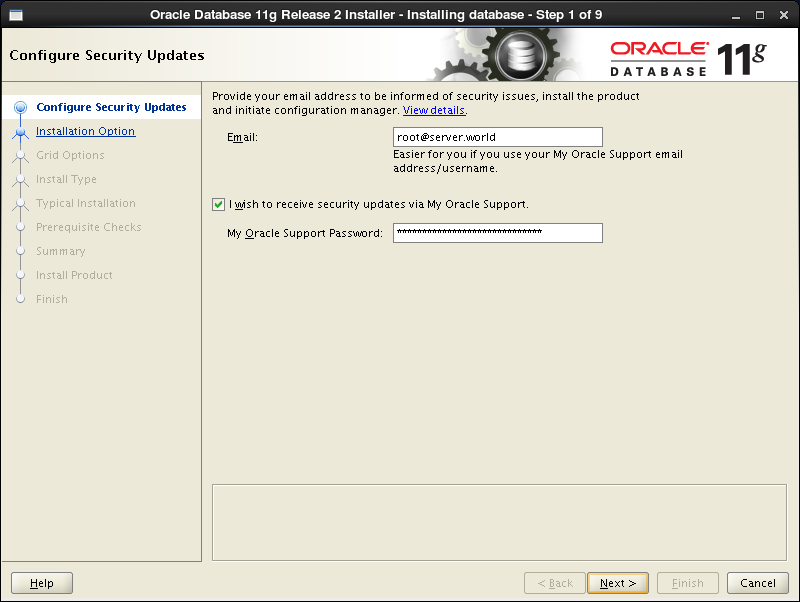 Download oracle xe 11g for linux   How to install Oracle Database