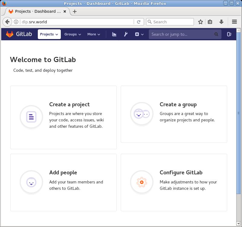 CentOS 7 : Install GitLab : Server World