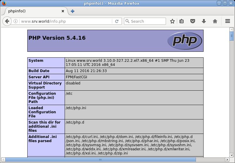 centos install php-fpm 7.3