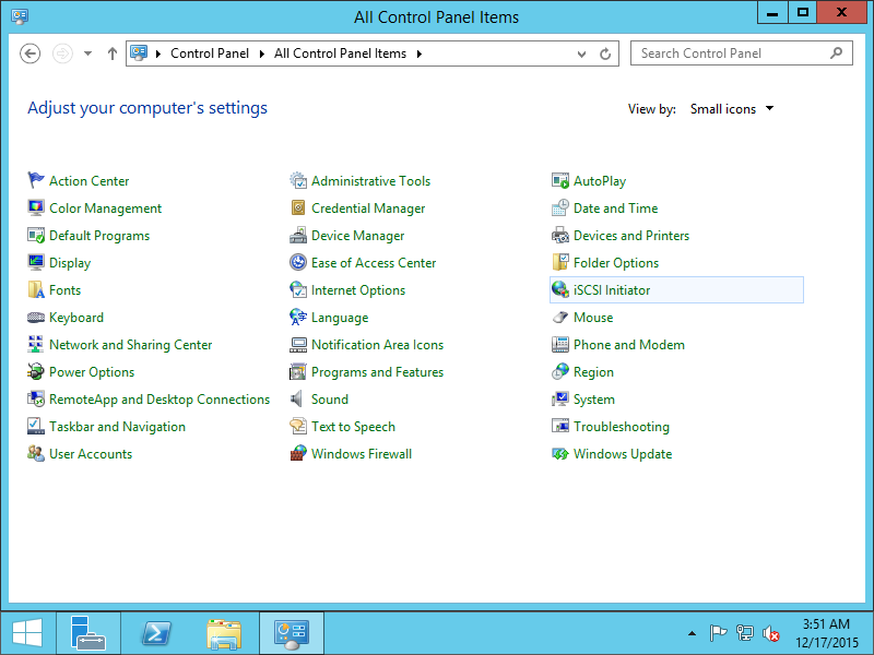 CentOS 7 : Configure iSCSI Initiator(Windows) : Server World