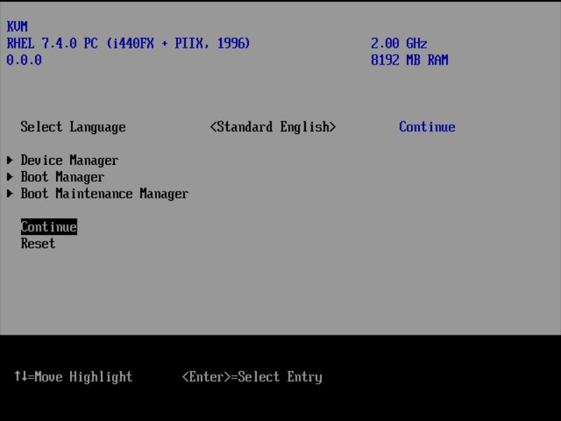 CentOS 7 : KVM : UEFI Boot : Server World