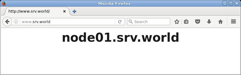 CentOS 7 : Nginx : Reverse Proxy Settings#1 : Server World