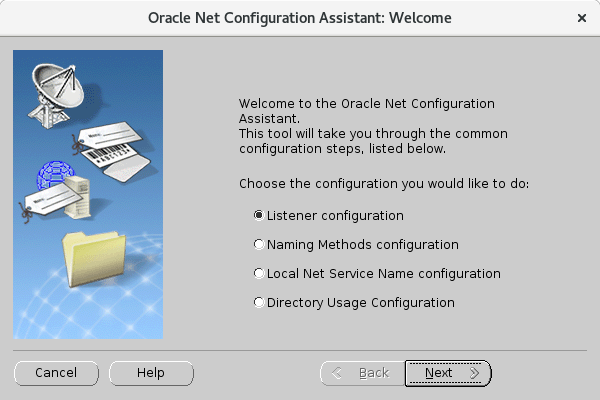 CentOS 7 : Oracle Database 18c : Add Oracle Net Listener : Server World