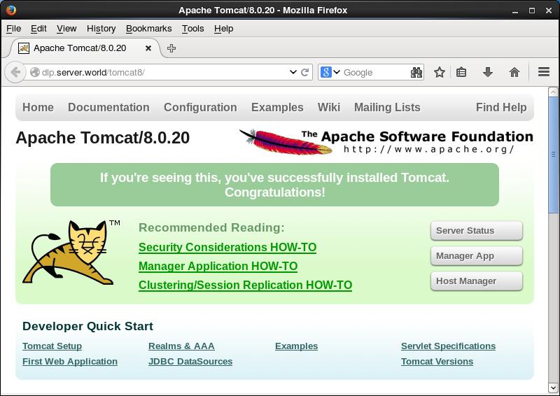tomcat 8.0.20
