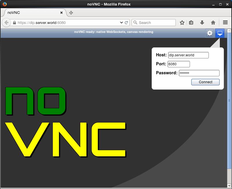 CentOS 7 : Install noVNC : Server World