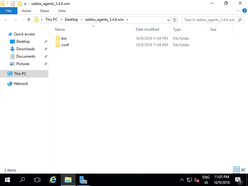 CentOS 7 : Zabbix 4 0 : Add Monitoring Target(Windows