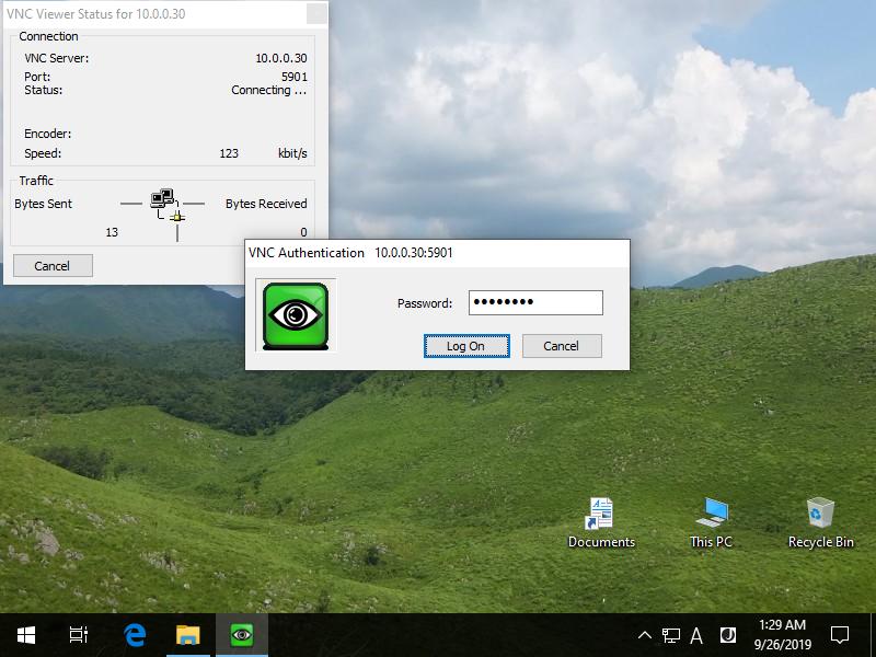 CentOS 8 : Configure VNC Server : Server World