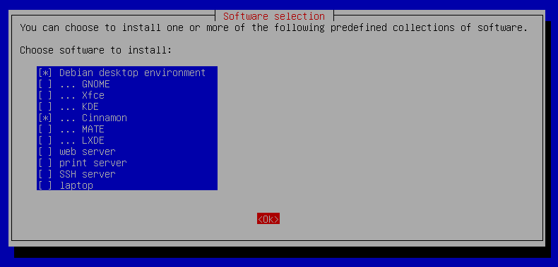 Debian 9 Stretch : Cinnamon Desktop Environment : Server World
