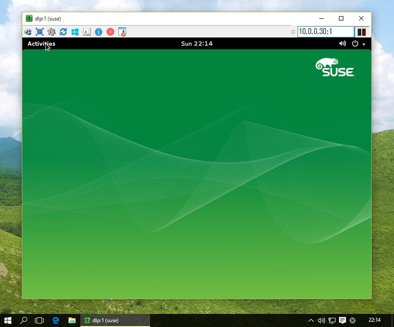 SUSE Linux Enterprise 12 : Configure VNC Server : Server World