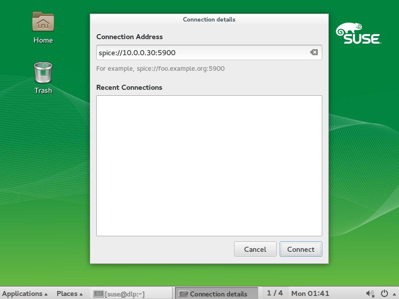 SUSE Linux Enterprise 12 : KVM : SPICE Client : Server World