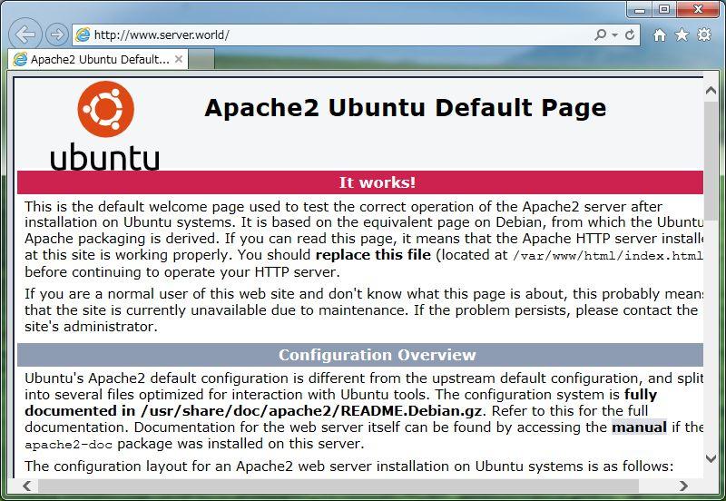 apache2 ubuntu