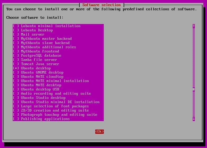 install ubuntu server 16.04 desktop