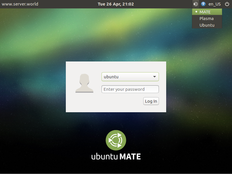 Ubuntu 16 04 Lts Mate Desktop Server World