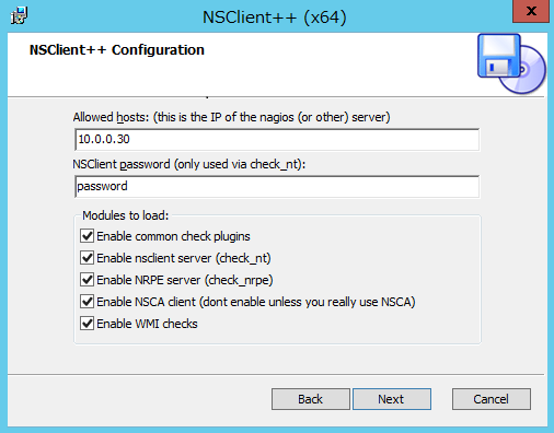 nsclient++ pour windows 8