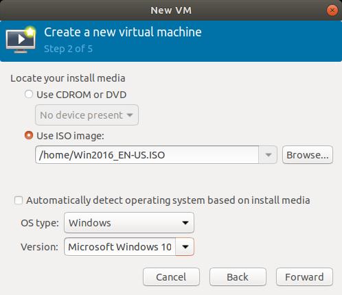 Ubuntu 18 04 LTS : KVM : Create Virtual Machine#2 : Server World
