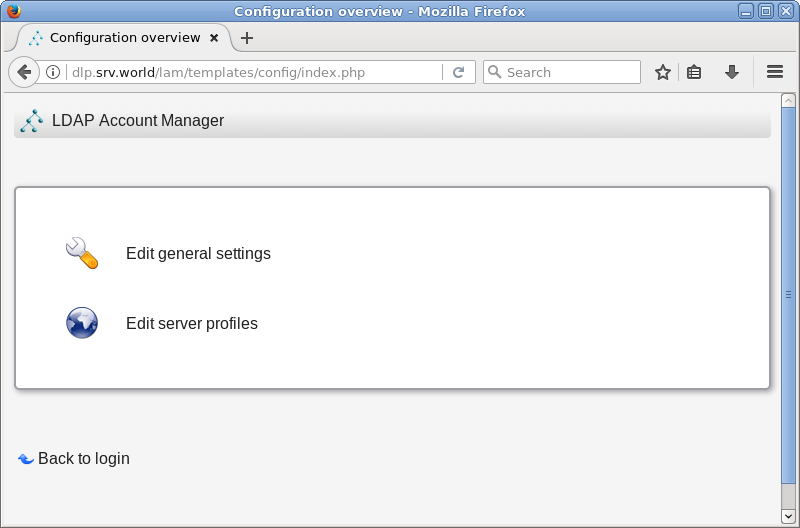 Ubuntu 18 04 LTS : OpenLDAP : LDAP Account Manager : Server