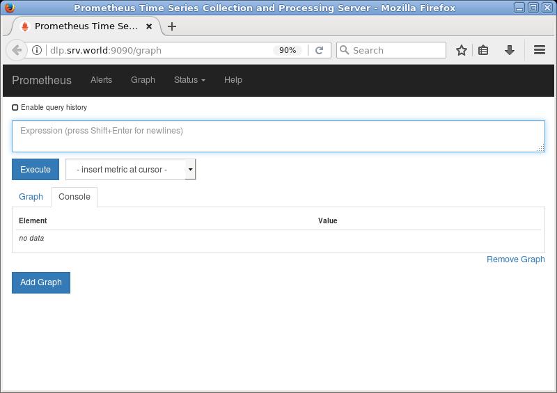 Ubuntu 18 04 LTS : Prometheus : Install : Server World