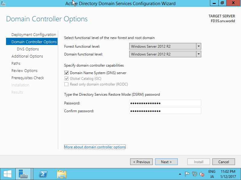 how to confugire jboss to show domai nname