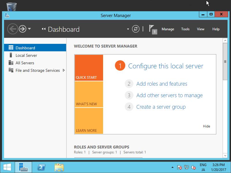 Windows Server 2012 R2 : Configure iSCSI Target : Server World