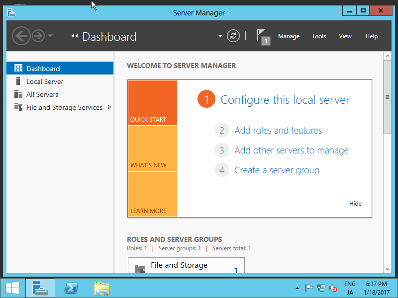 Windows Server 2012 R2 : Configure NFS Shared Folder : Server World