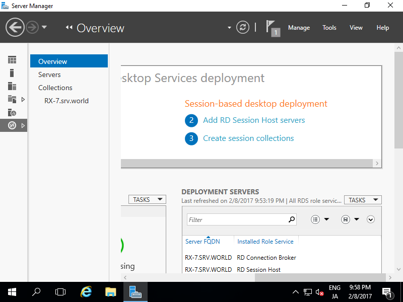 Windows Server 2016 : Publish RemoteApp : Server World