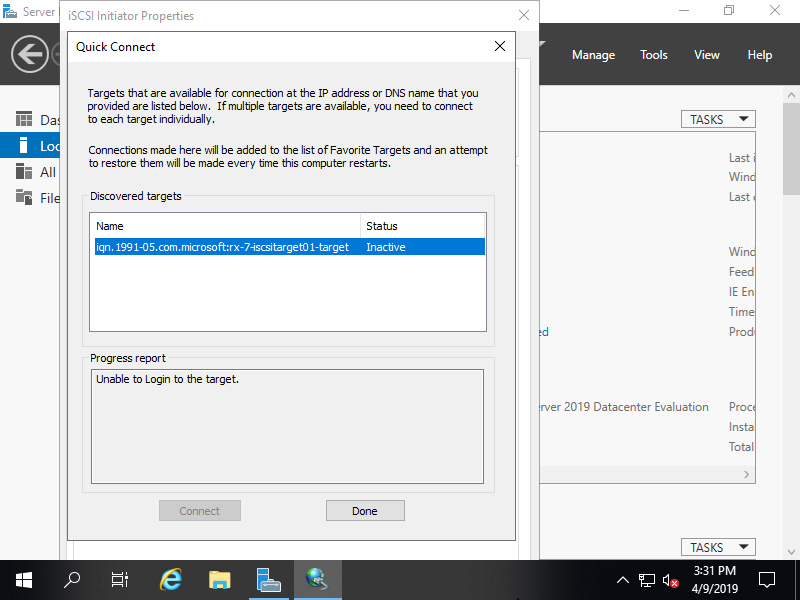 Install Windows 10 On Iscsi Disk